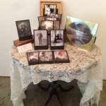 Cabinet card set with handmade box (framed print not included)